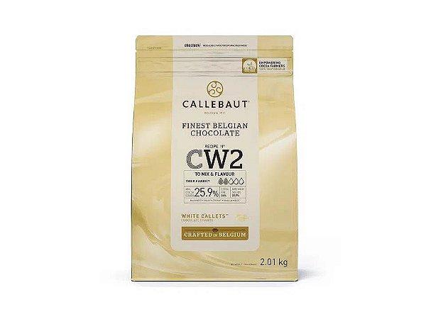 Chocolate Branco CW2 Gotas Callebaut 2,2Kg