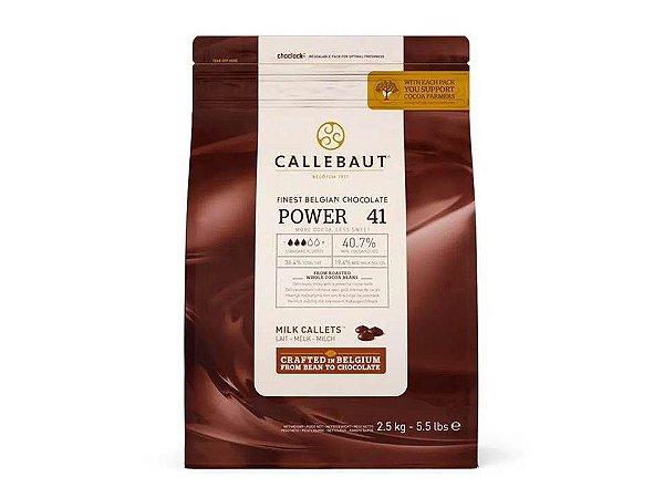 Chocolate ao Leite Gotas 40,7% 2,5Kg Callebaut