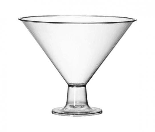 Taça Martine Acrílico Cristal 2,4L Três Triângulos