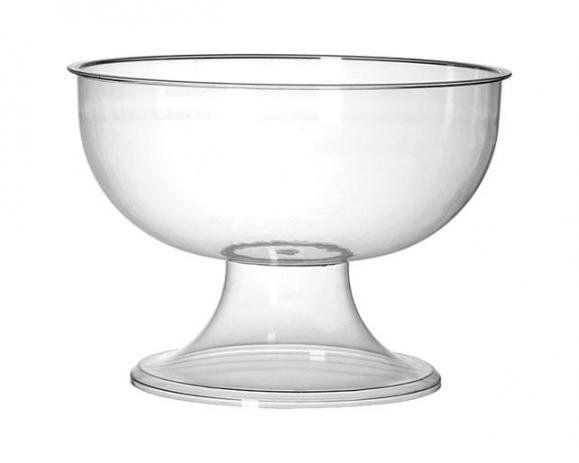 Taça Gigante Acrílico Cristal 5 Litros rês Triângulos