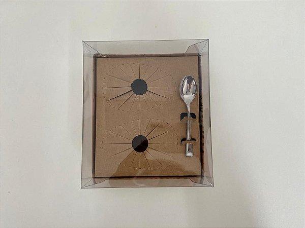 Caixa de Ovo de Colher 2 de 100g  Stylus Mensagens Curifest