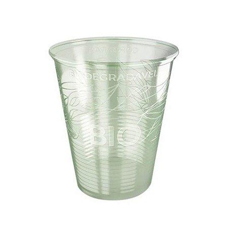 Copo descartável Biodegradável PP 200ml pacote com 100 unid. Copobras