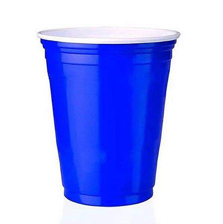 Copo descartável Festa 400ml Azul pacote com 25 unid. Copobras