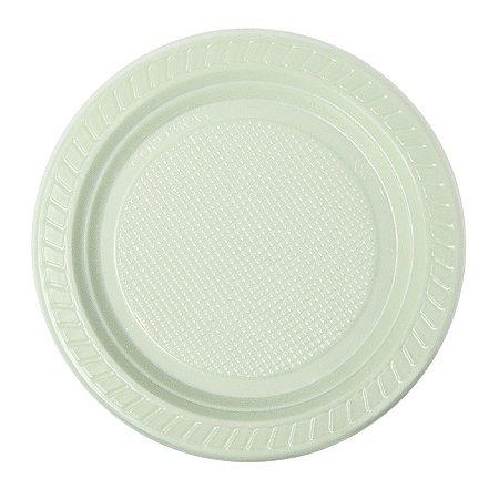 Prato descartável Biodegradável 15cm pacote com 10 unid. Copobras