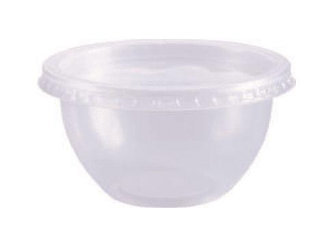 Pote Bowl com tampa 250ml com 20 unid. Prafesta
