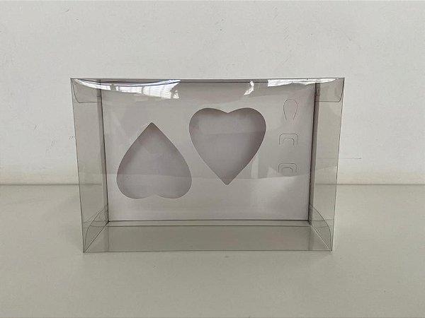 Caixa branca Coração de colher 2 de 200g
