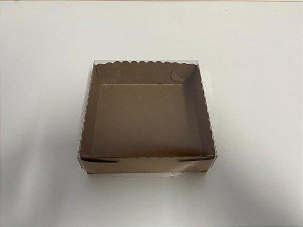 Caixa Kraft Stylus para 9 doces