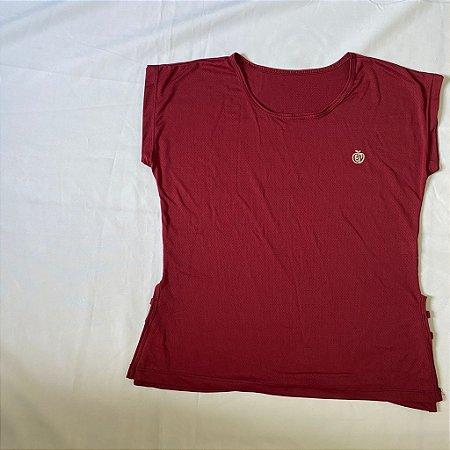 Blusa Poliamida Dry Fit Vinho | REF: 2.2.1112