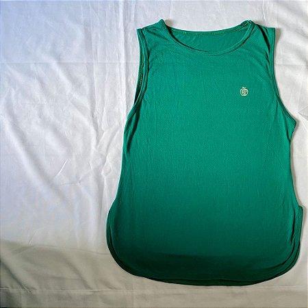 Camiseta Poliamida Dry Fit Verde Água   REF: 2.2.1114