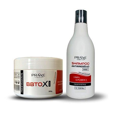 KIT: BBtox Magic 300g + Shampoo Antirresíduo 300g
