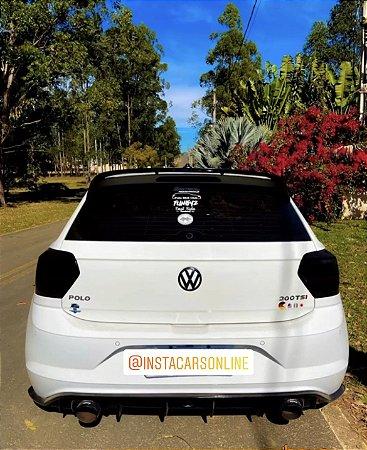 Difusor VW Polo Saída Dupla Com Breaklight Black Piano