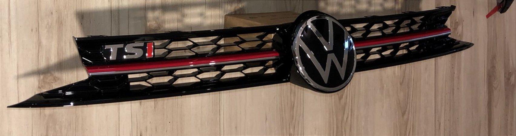 Grade Colmeia TSI Logo VW 2021 Original VW Polo e Virtus Exclusividade Instacarsonline
