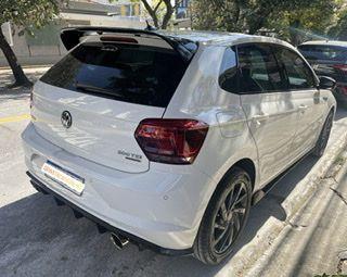 Spoiler Lateral VW Polo em Fibra Black Piano