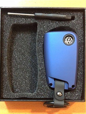 Capa de Chave Azul Linha Volkswagen