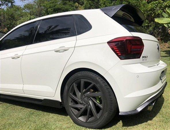 Aerofólio VW Polo Modelo Grande em Carbono