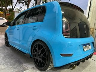 Spoiler lateral VW UP Universal black Piano