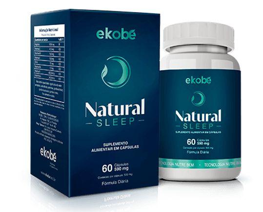 Natural Sleep - Ekobé - 60 Cápsulas