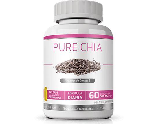 Pure Óleo de Chia|Ekobé 60 Cáps