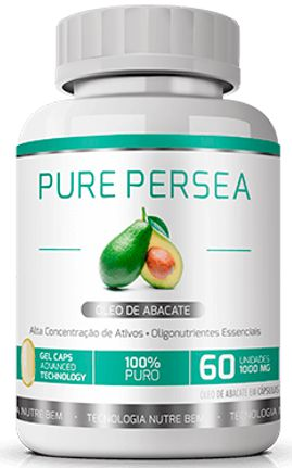 Pure Persea Óleo de Abacate|Ekobé 60 Cáps