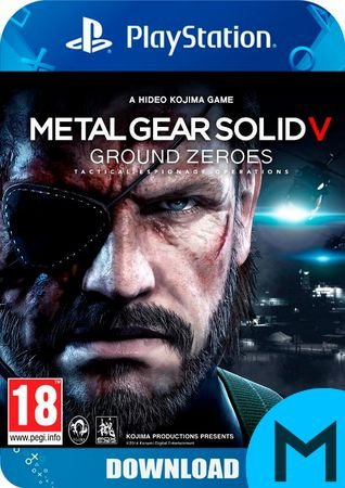 Metal Gear Solid V: Grouds Zeroes - PS4