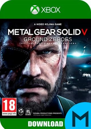 Metal Gear Solid V: Grouds Zeroes - Xbox One