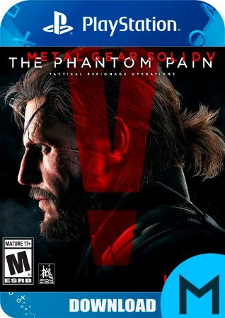 Metal Gear Solid V: The Phantom Pain- PS4