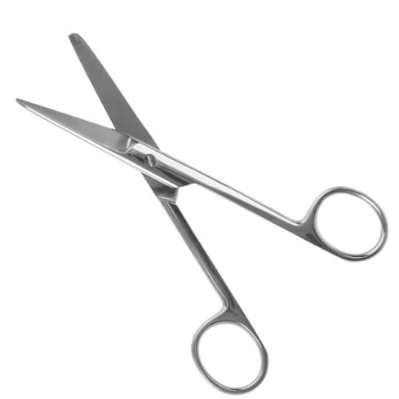Tesoura Cirúrgica ABC 15cm Reta Fina/Romba