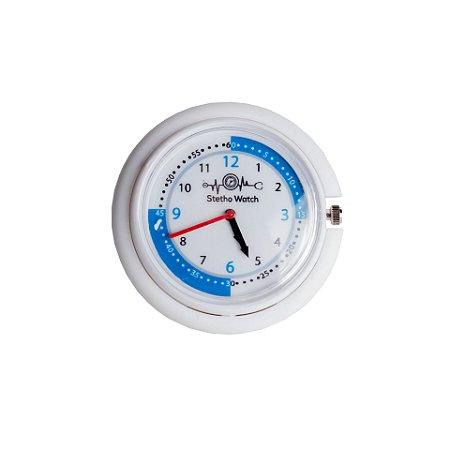 Relógio para Estetoscópio Stetho Watch Branco