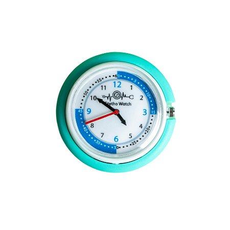 Relógio para Estetoscópio Stetho Watch Turquesa