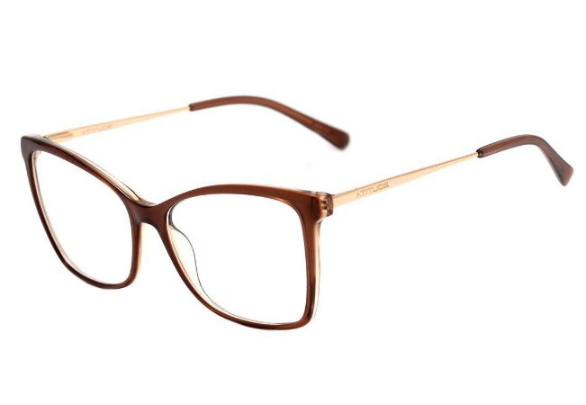 Óculos de grau Atitude AT6216l H02 55.5