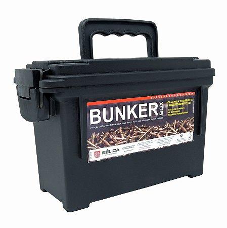 Caixa Bunker Box Bélica - Preto