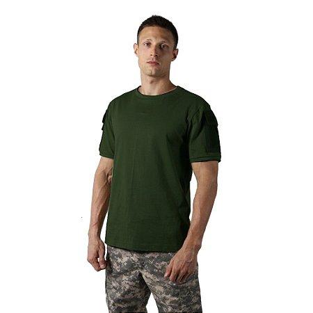 Camiseta Tática Masculina Ranger Verde Bélica