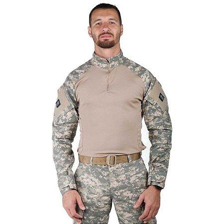 Combat Shirt Camuflado Digital Areia Bélica