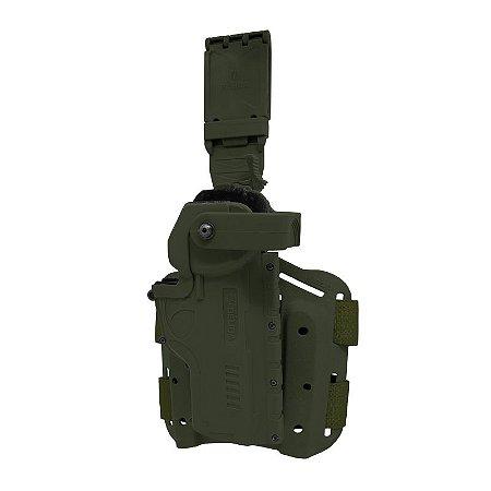 Coldre Hammer II em Polímero - Verde