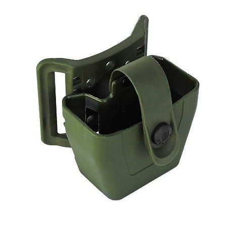 Porta Algema em Polímero Bélica Passador - Verde