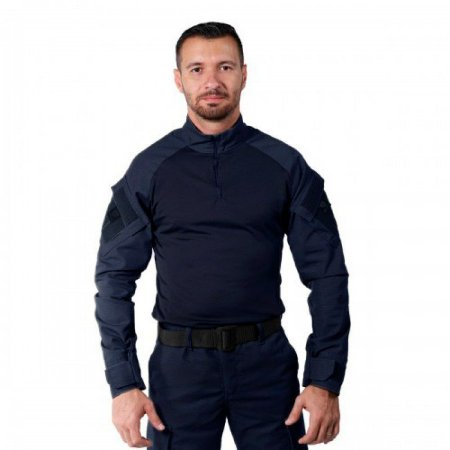 Combat Shirt Azul Marinho Bélica