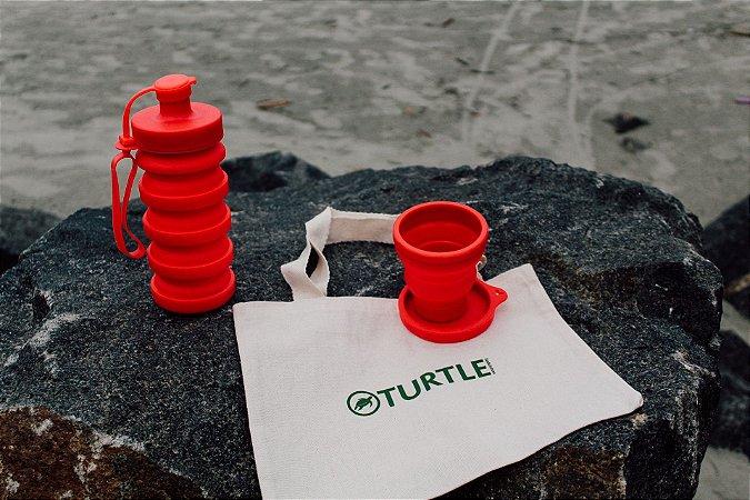 Kit Turtle Vermelho