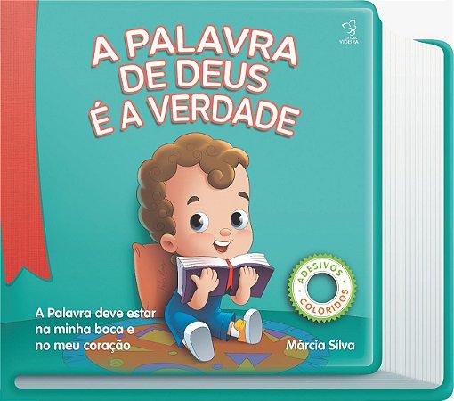 LIVRO ILUSTRADO-A PALAVRA É A VERDADE BABY