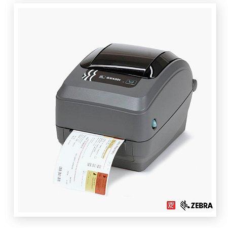Impressora de Etiquetas Zebra GX420t 203dpi - Serial, USB e Ethernet (ZebraNet)