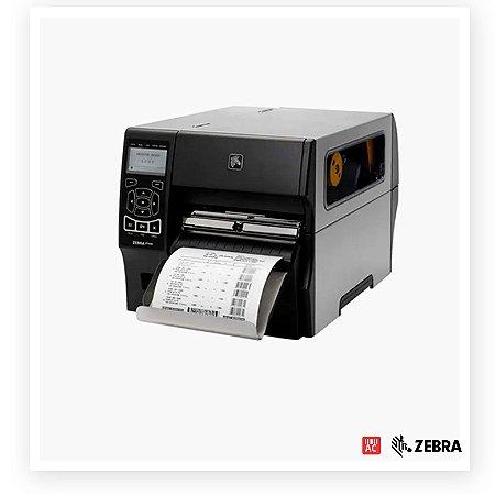 Impressora de Etiquetas Zebra ZT420 203dpi - USB, Serial RS232, Bluetooth e Ethernet - ZebraNet