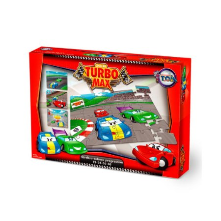 Quebra Cabeça Carros Turbo Max Progressivo