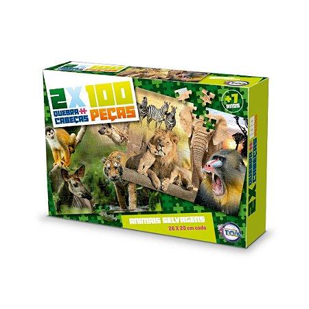Puzzle Animais Selvagens