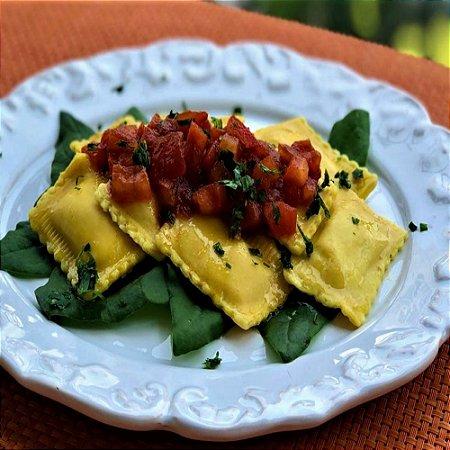 Raviolli (amarelo) Ricota e Espinafre 1kg