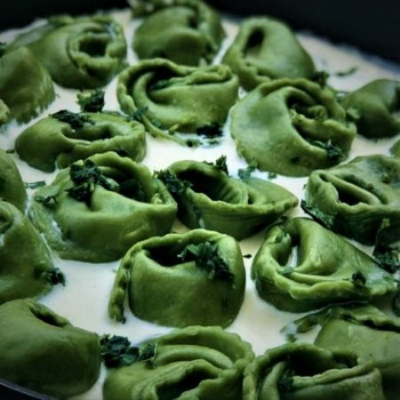 Tortelli (verde) 5 queijos 1kg