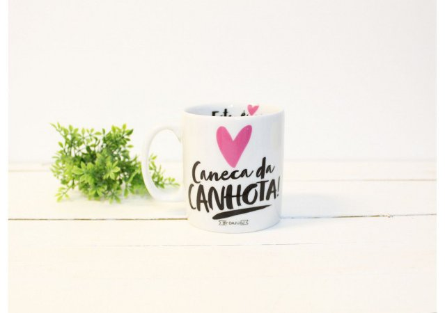 """Caneca """"Canhota"""""""