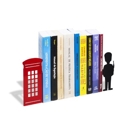 Porta Livros Londres