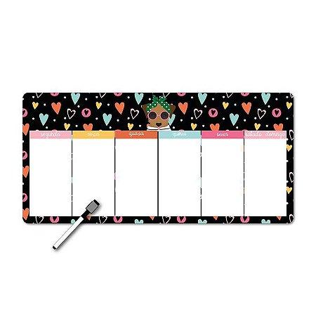 Memo Board Magnético Horizontal Caramelo
