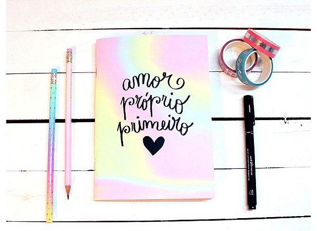 Caderno Flex Pequeno Amor Próprio - Pautado