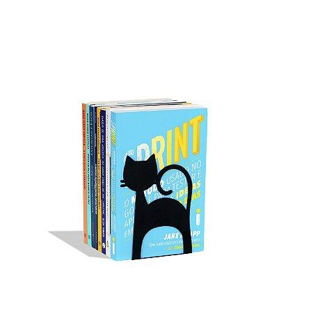 Porta Livros Gato
