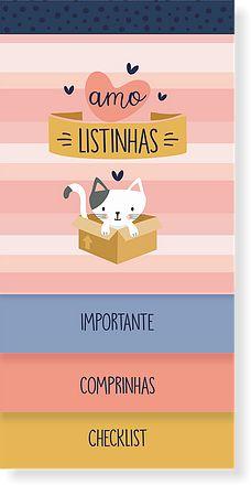 Bloco Listas Cat